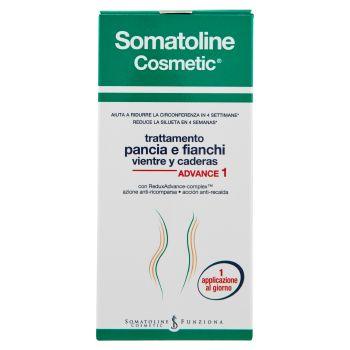 Somatoline Cosmetic, trattamento pancia e fianchi Advance 1 150 ml