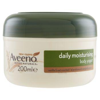 Aveeno, Daily Moisturising body yogurt vaniglia & avena 200 ml