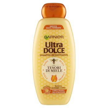 Garnier, Ultra Dolce Ricostituente Tesori di miele con pappa reale e propoli shampoo 400 ml