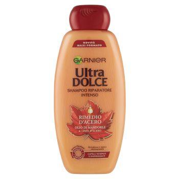 Garnier, Ultra Dolce Rimedio d'acero per capelli danneggiati shampoo 400 ml