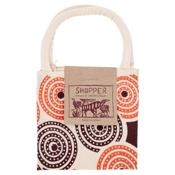 Shopper in cotone, fantasie assortite