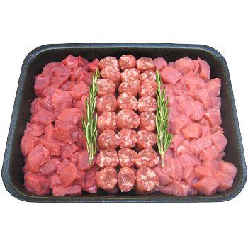 Esselunga, I Pronti da Cuocere scottona piemontese tris di bocconcini, 500 g