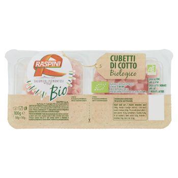 Raspini, Bio cubetti di cotto biologico conf. 2x50 g