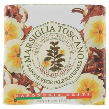 Saponeria Nesti, Marsiglia Toscano tabacco italiani sapone 200 g
