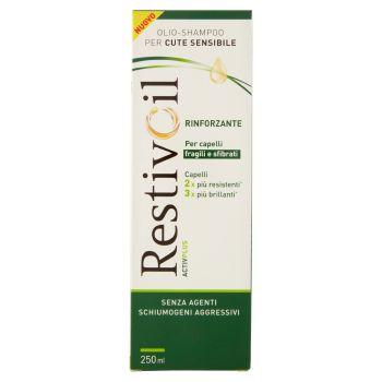 RestivOil, Rinforzante ActivPlus cute sensibile capelli fragili e sfibrati olio-shampoo 250 ml