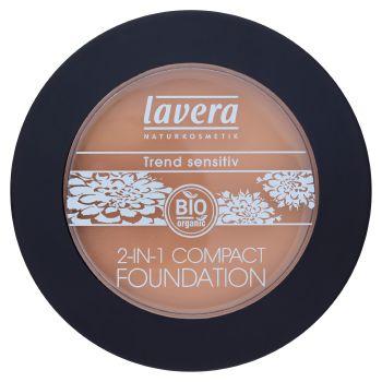 Lavera Bio Fondotinta + cipria compatta 2 in 1 honey 03 10 g