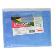 Pentel Landscape Buste portadocumenti, formato A4, 5 pezzi, colori assortiti