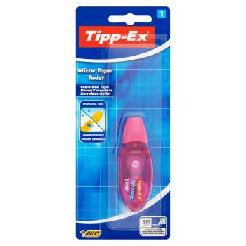 Bic Tipp-Ex Micro Tape Twist Correttore a nastro