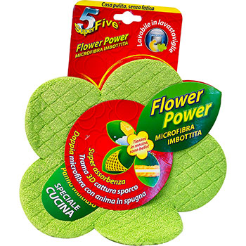 Super5, SuperFive, Flower power speciale cucina