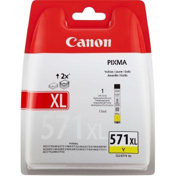 Canon Cartuccia d'inchiostro CLI-571xl, giallo
