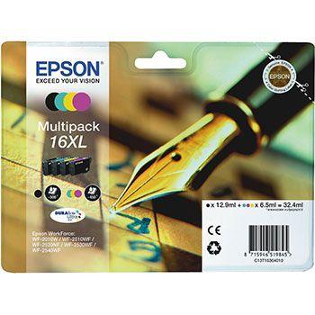 Epson Cartuccia d'inchiostro 16XL, multipack