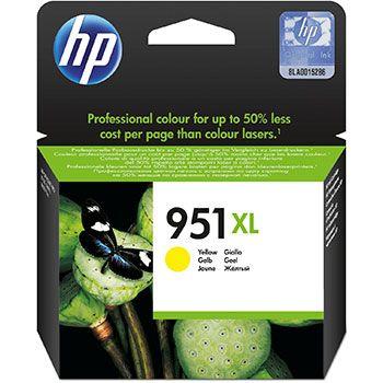 HP Cartuccia d'inchiostro 951XL, giallo