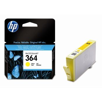 HP Cartuccia d'inchiostro 364, giallo