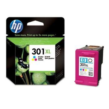 HP Cartuccia d'inchiostro Tricromia 301XL, ciano, magenta, giallo