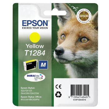 Epson Cartuccia d'inchiostro T1284 taglia M, giallo