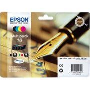 Epson Cartuccia d'inchiostro Multipack 16, nero, ciano, magenta, giallo