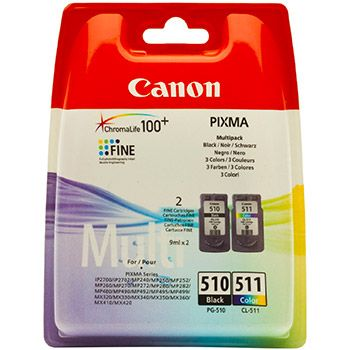 Canon Cartuccia d'inchiostro Multipack PG-510 nero / CL-511 colore