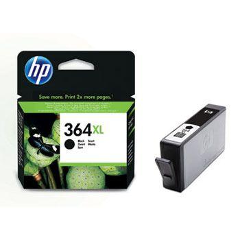 HP Cartuccia d'inchiostro 364XL, nero