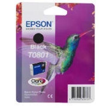 Epson Cartuccia d'inchiostro T0801, nero