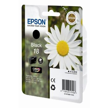 Epson Cartuccia d'inchiostro 18BK, nero