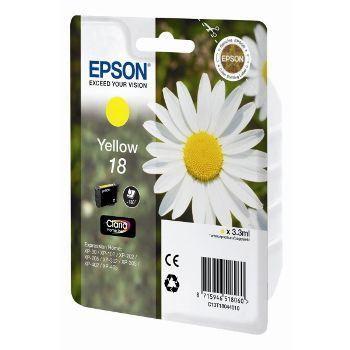 Epson Cartuccia d'inchiostro 18, giallo