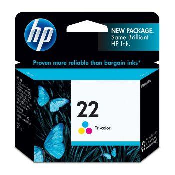 HP Cartuccia d'inchiostro Tricromia 22, ciano, magenta, giallo