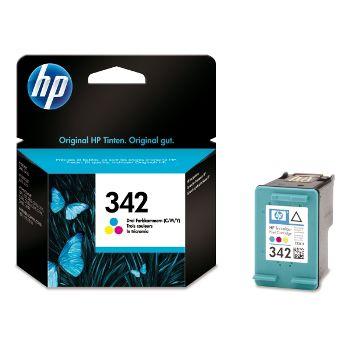 HP Cartuccia d'inchiostro Tricromia 342, ciano, magenta, giallo