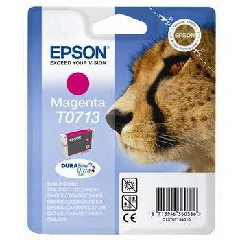 Epson Cartuccia d'inchiostro T0713, magenta