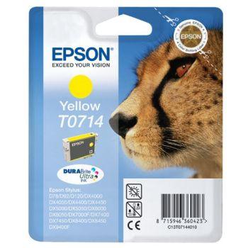 Epson Cartuccia d'inchiostro T0714, giallo