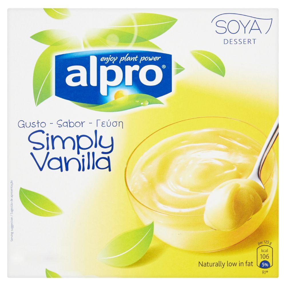 Alpro, Soya dessert simply vanilla