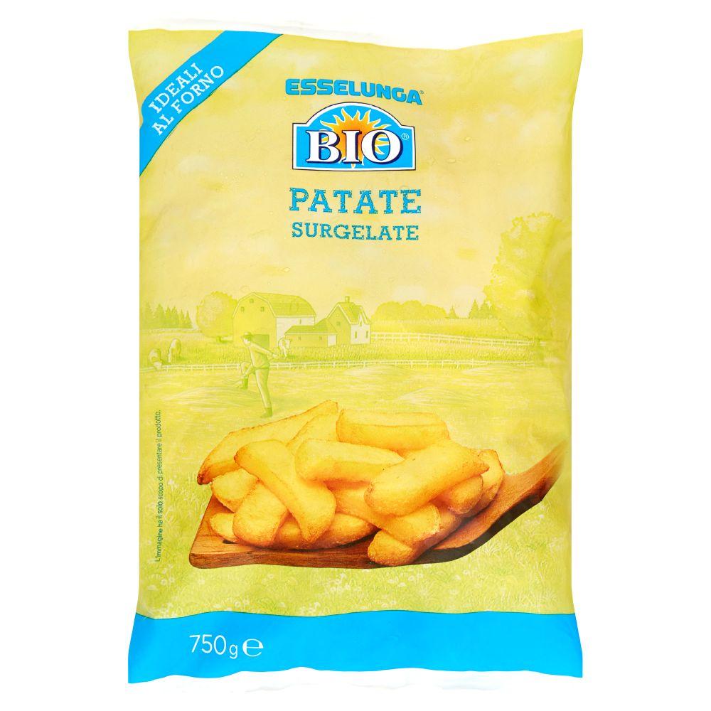 Esselunga Bio, patate biologiche surgelate