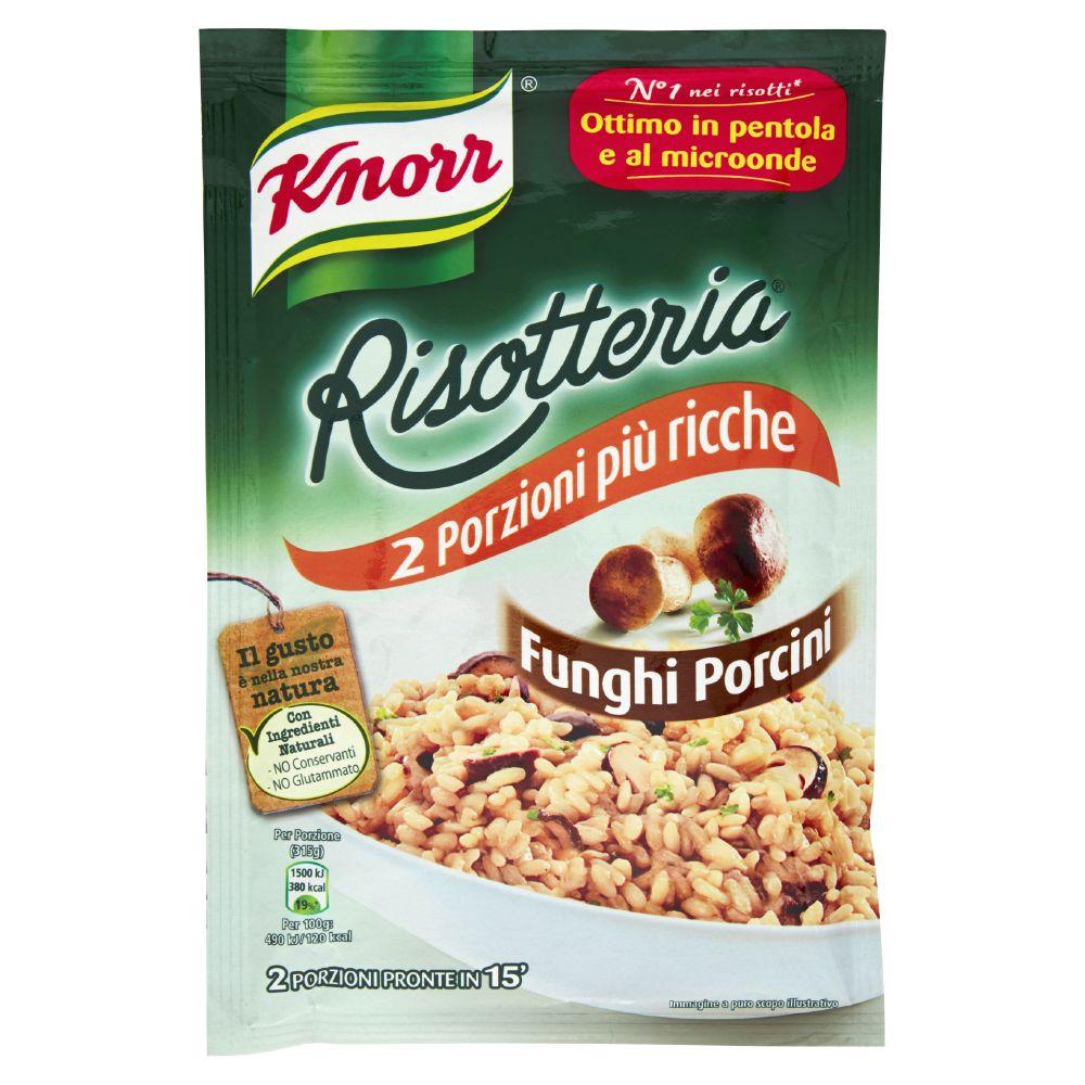 Knorr - Risotteria, Funghi Porcini