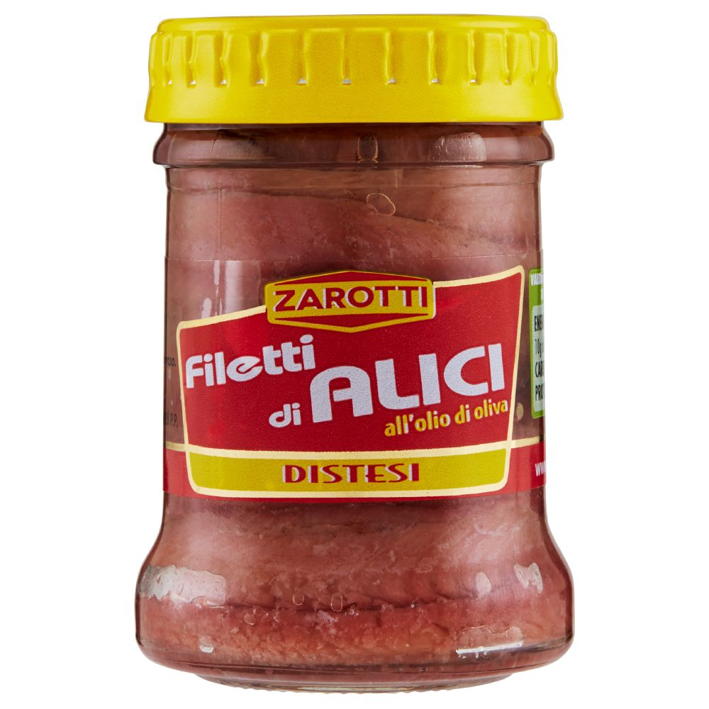 Zarotti - Filetti di Alici, all'Olio di Oliva