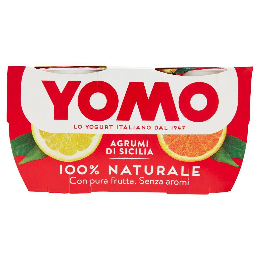 Yomo 100% Naturale yogurt e agrumi di Sicilia