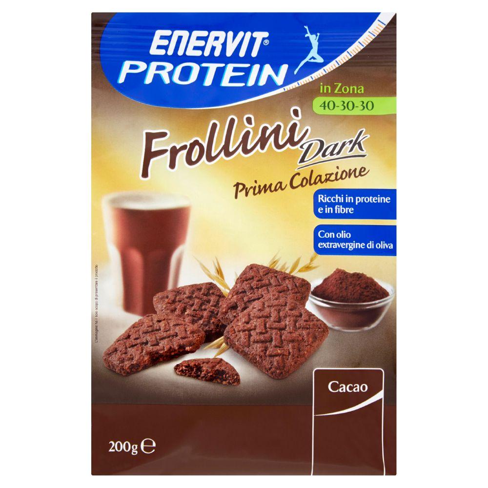Enervit, Protein prima colazione frollini dark al cacao