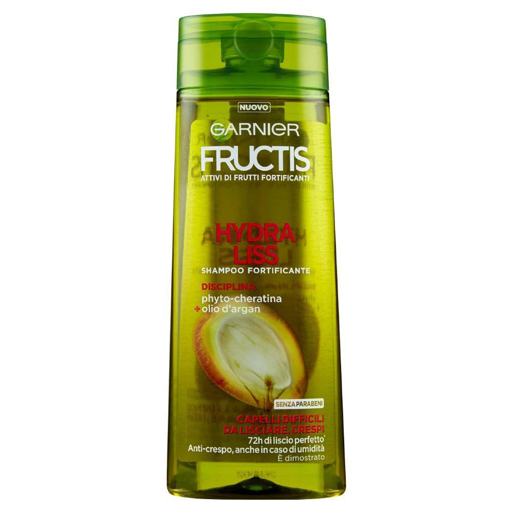 Garnier Fructis Hydra Liss Shampoo per Capelli Difficili da Lisciare