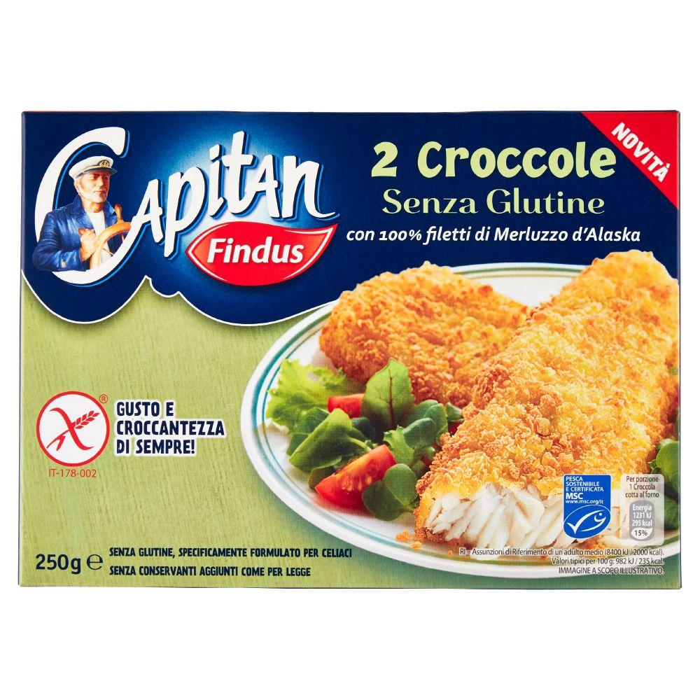 Capitan Findus Croccole senza Glutine