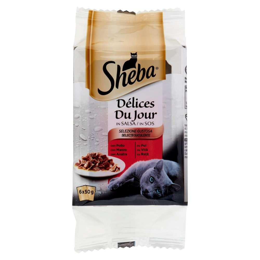 Sheba Délices Du Jour in Salsa Selezione Gustosa