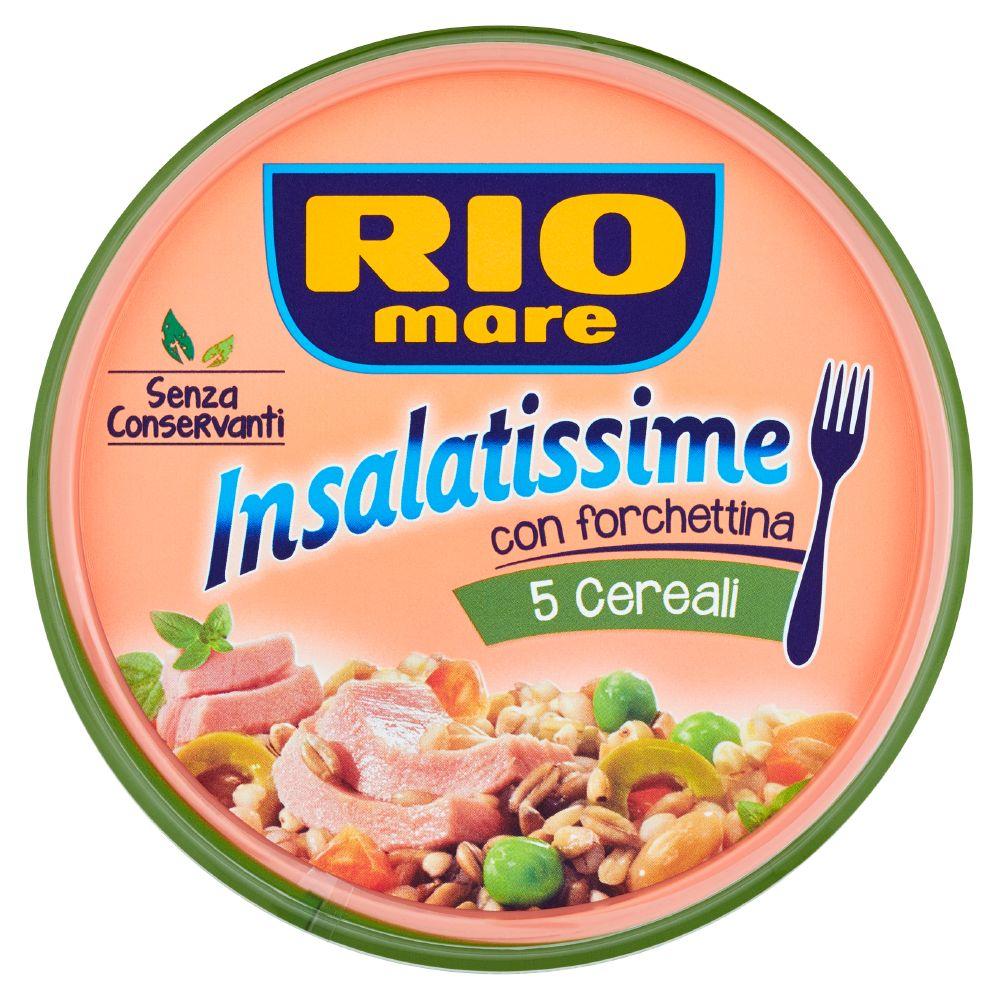 Rio Mare, Insalatissime 5 cereali con tonno, grano saraceno e olive verdi