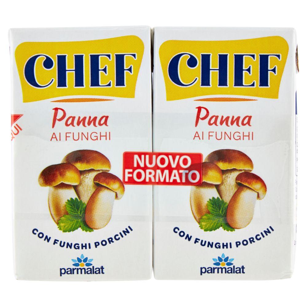Chef Panna ai Funghi