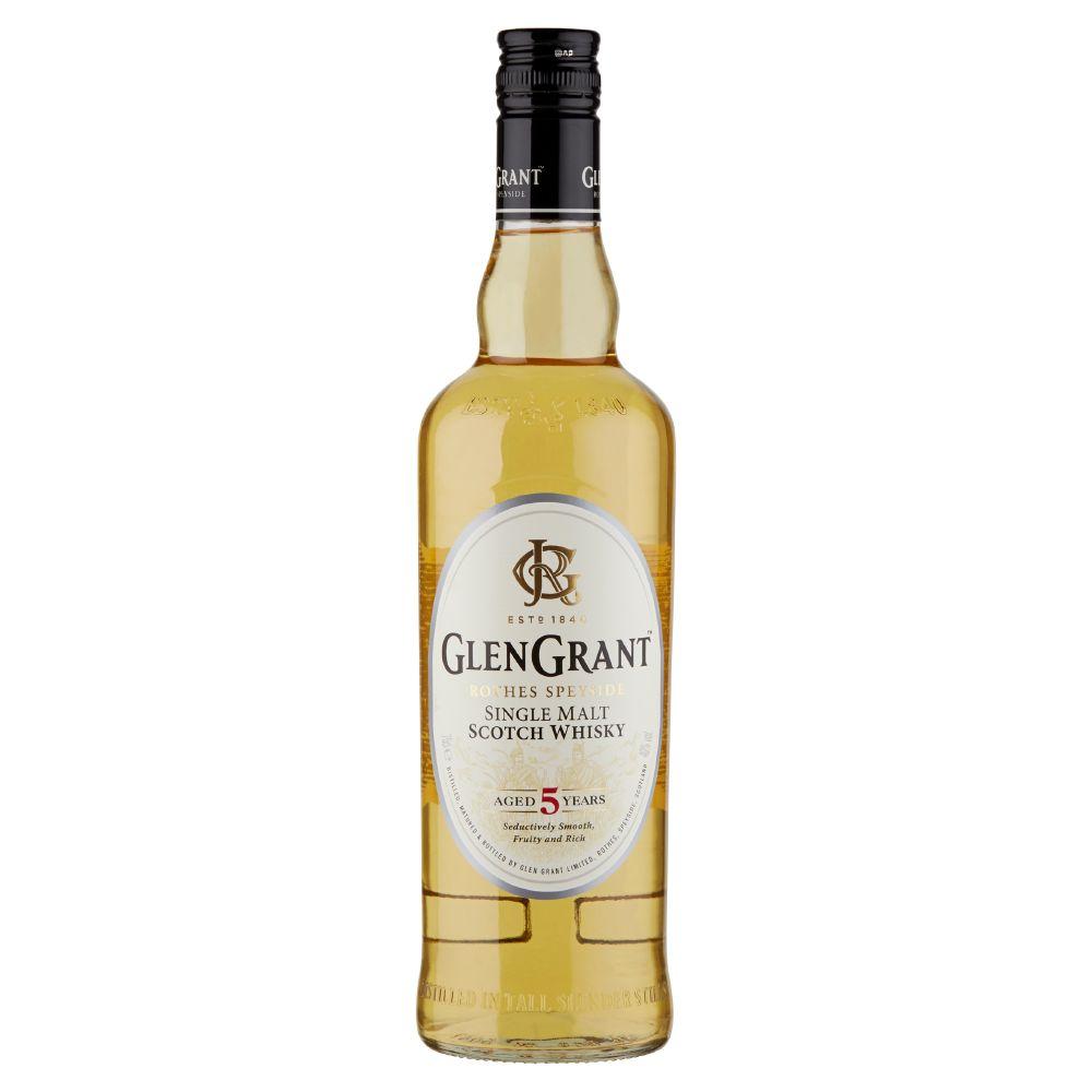 Glen Grant, Single Malt scotch Whisky aged 5 years
