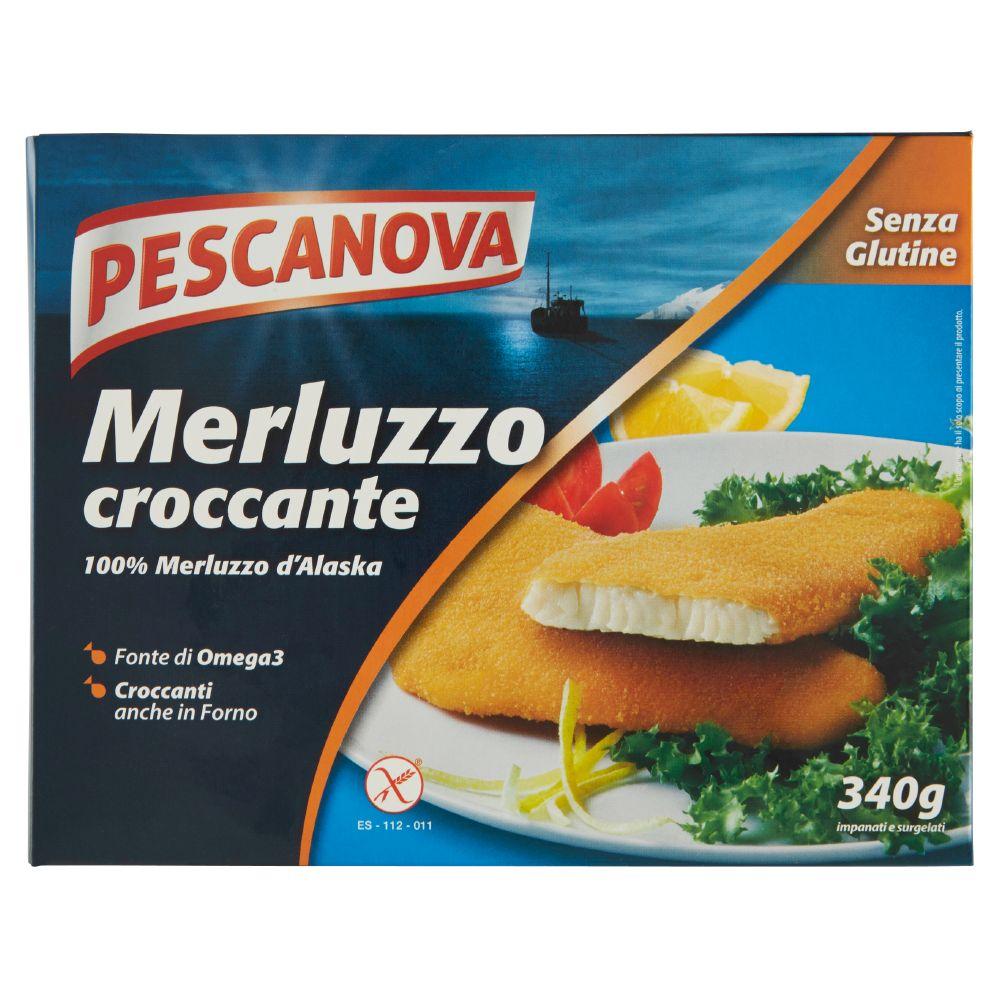Pescanova, merluzzo panato surgelato