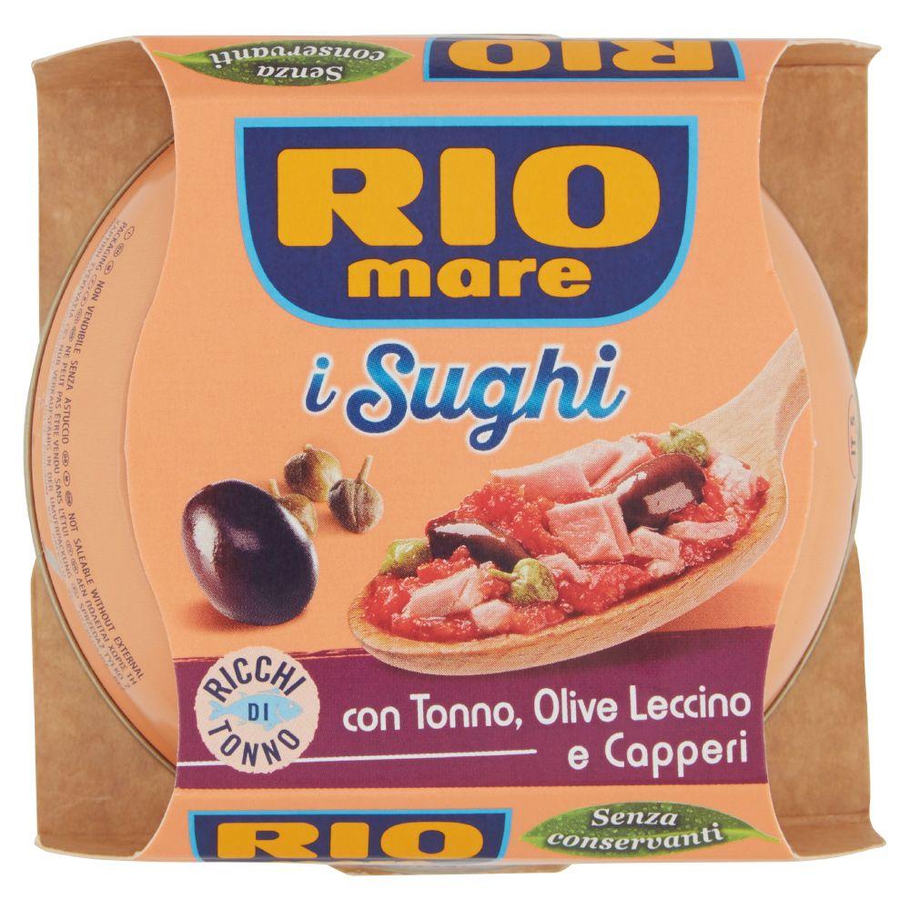 Rio mare i Sughi con Tonno, Olive Leccino e Capperi