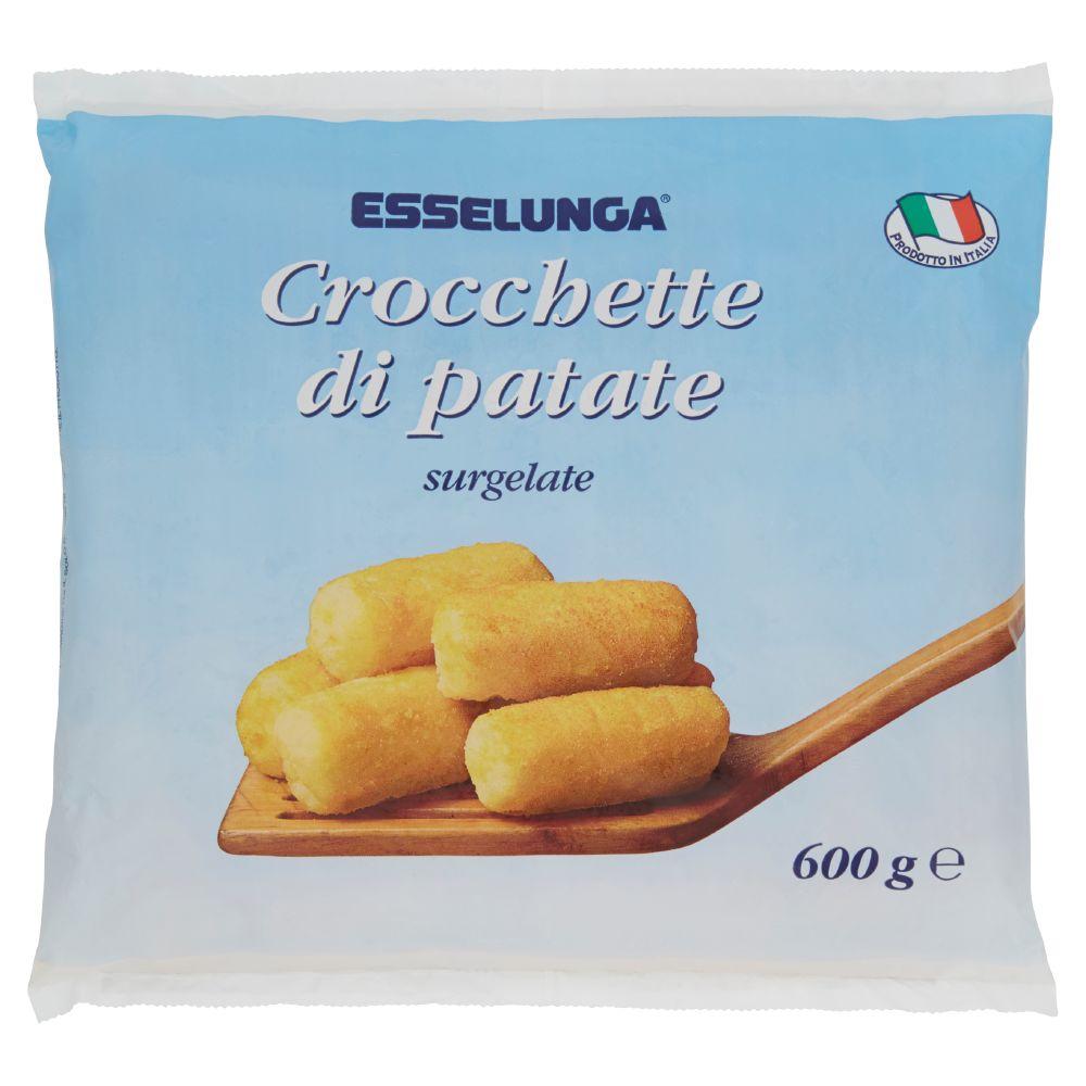 Esselunga, crocchette di patate surgelate