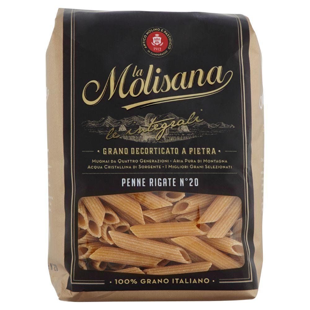 La Molisana, Penne Rigate n. 20 pasta di semola integrale di grano duro