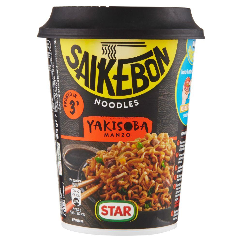 Star Saikebon Yakisoba Manzo
