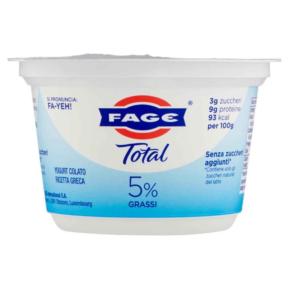 Fage, Total yogurt greco bianco