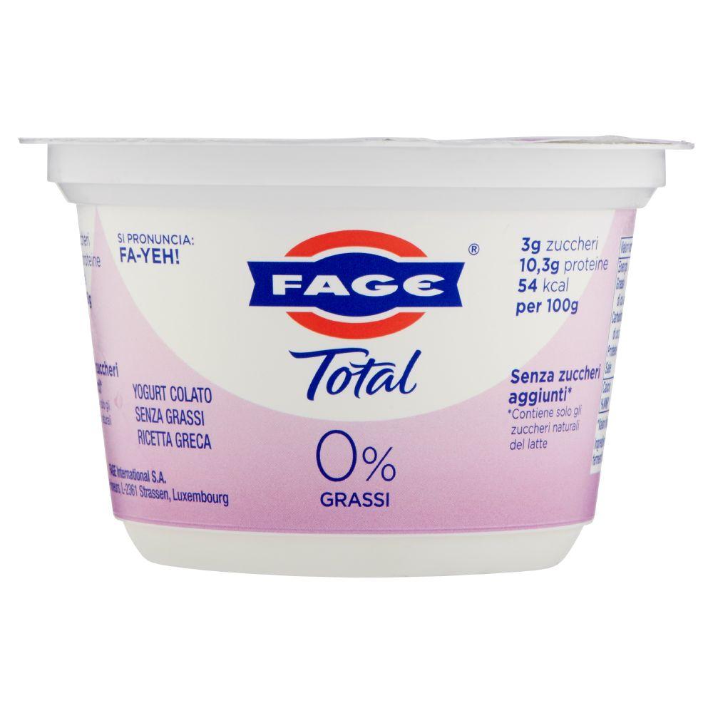 Fage - Yogurt Bianco Total 0%