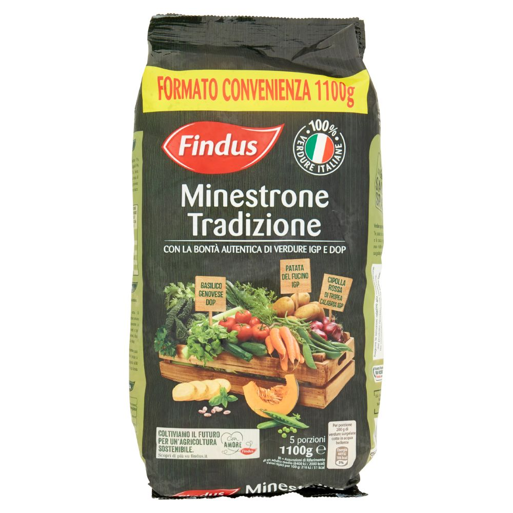 Findus, minestrone tradizione IGP surgelato