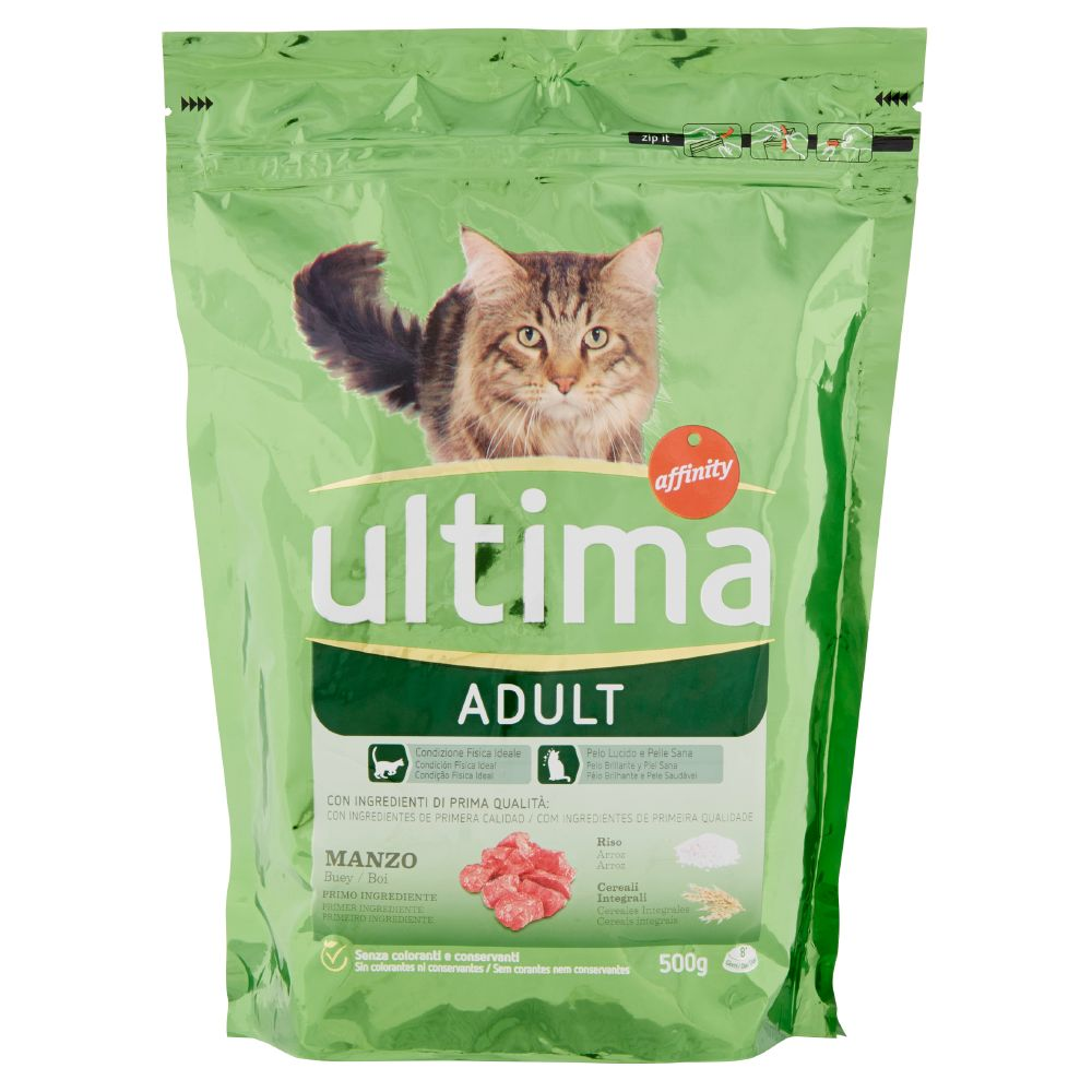 Ultima Cat Adult Manzo